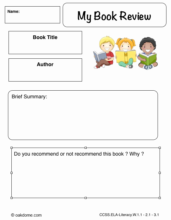 Kindergarten Book Report Template Lovely Book Report Worksheet for First Grade Cheeseburger Book