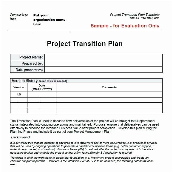 Knowledge Transition Plan Template Unique Knowledge Transition Plan Template Pdf Free Download