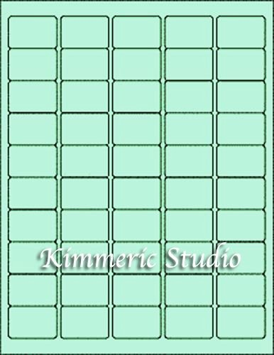 Label Template for Pages Beautiful 6 Sheets 1x1 1 2 Sm Blank Green Stickers Labels Custom