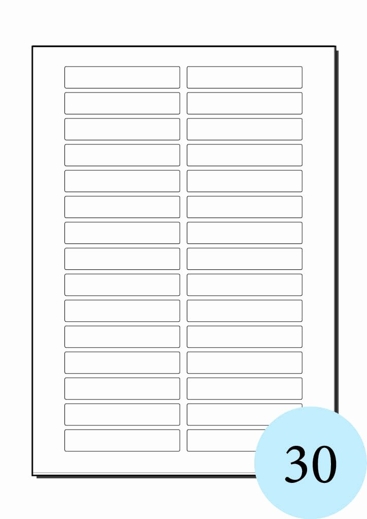 Label Template for Pages Elegant Label Template 21 Per Sheet Free Download