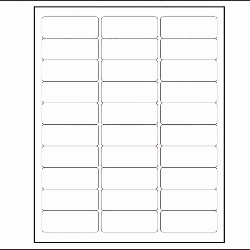 Labels Template for Pages Fresh Per Sheet Label Template and Free Christmas Return Address