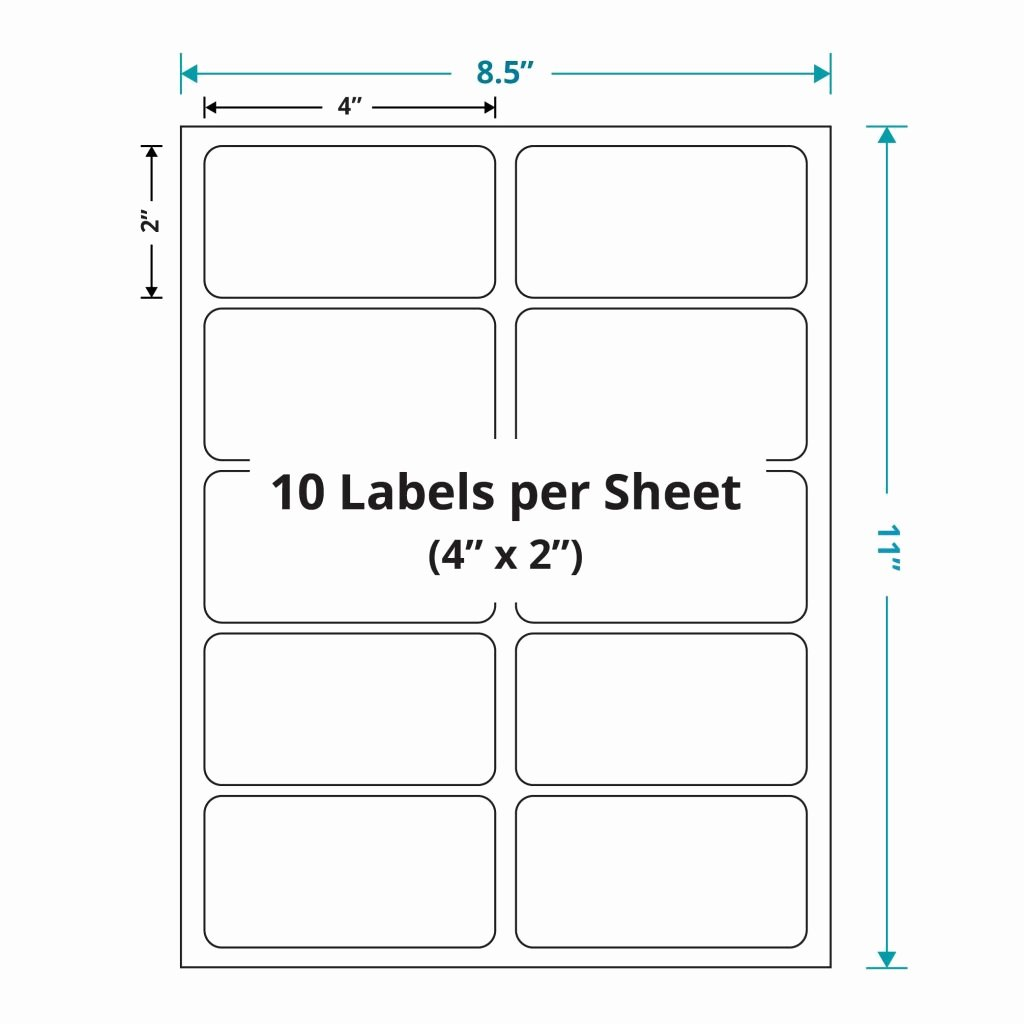 Labels Template for Pages Inspirational 6 Labels Per Sheet Template Invoice Round A4 Shipping 3
