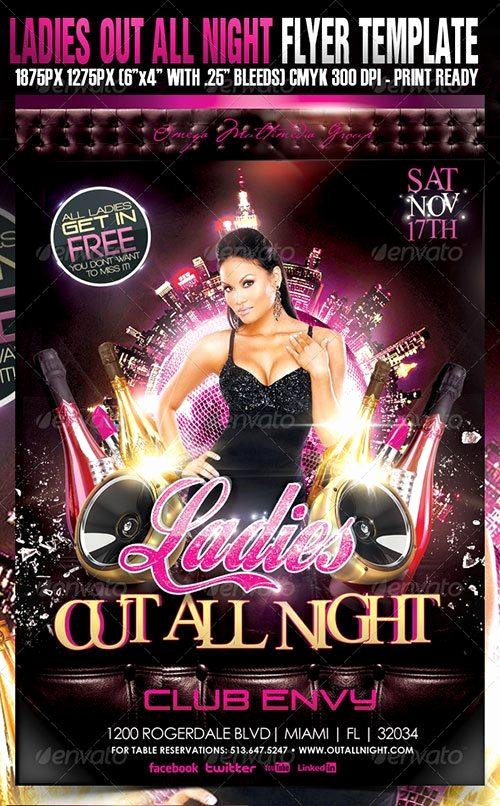 Ladies Night Flyer Template Best Of top 10 Best La S Night Psd Flyer Templates for Shop
