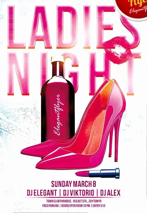 Ladies Night Flyer Template New 40 Free Club Flyers Psd Templates