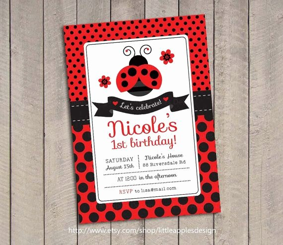 Ladybug Invitations Template Free Awesome Best 25 Ladybug Invitations Ideas On Pinterest