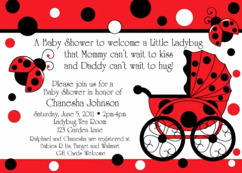 Ladybug Invitations Template Free Best Of How to Set Up Ladybug themes In Baby Shower