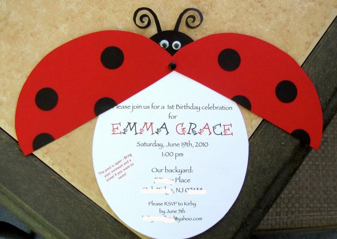 Ladybug Invitations Template Free Lovely Happy Hound Creative First Birthday Party Ladybug