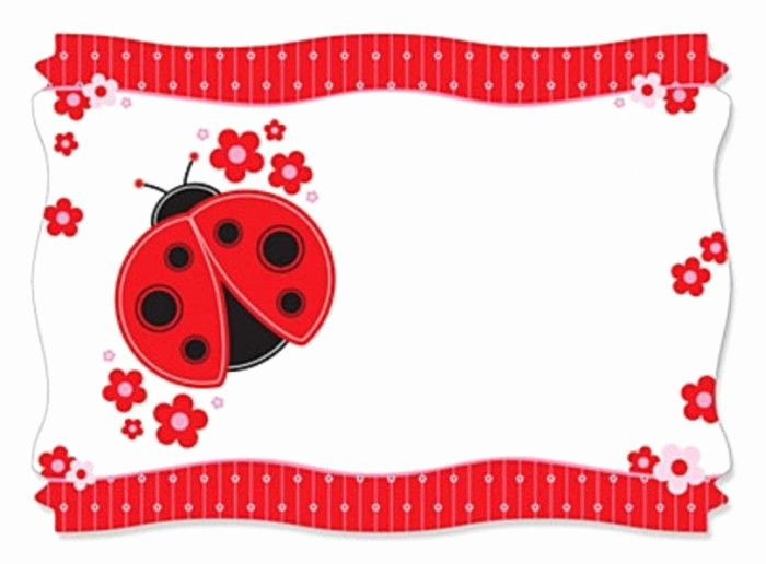 Ladybug Invitations Template Free Luxury Best 25 Baby Shower Templates Ideas Only On Pinterest