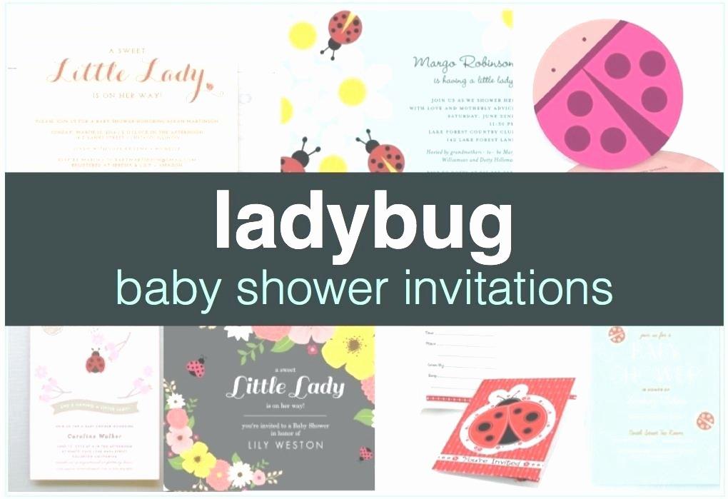 Ladybug Invitations Template Free New Ladybug Baby Shower Invitations Best Ladybug Baby Shower