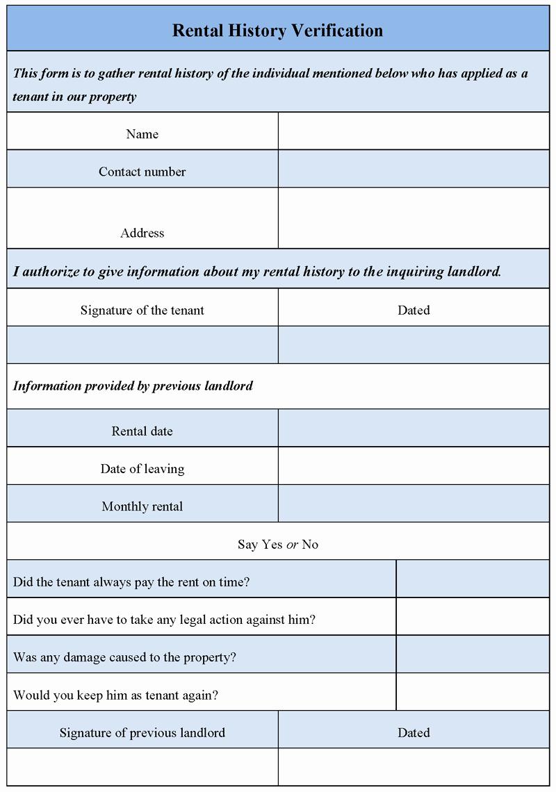 Landlord Verification form Template Unique Verification forms Cover Letter Samples Cover Letter