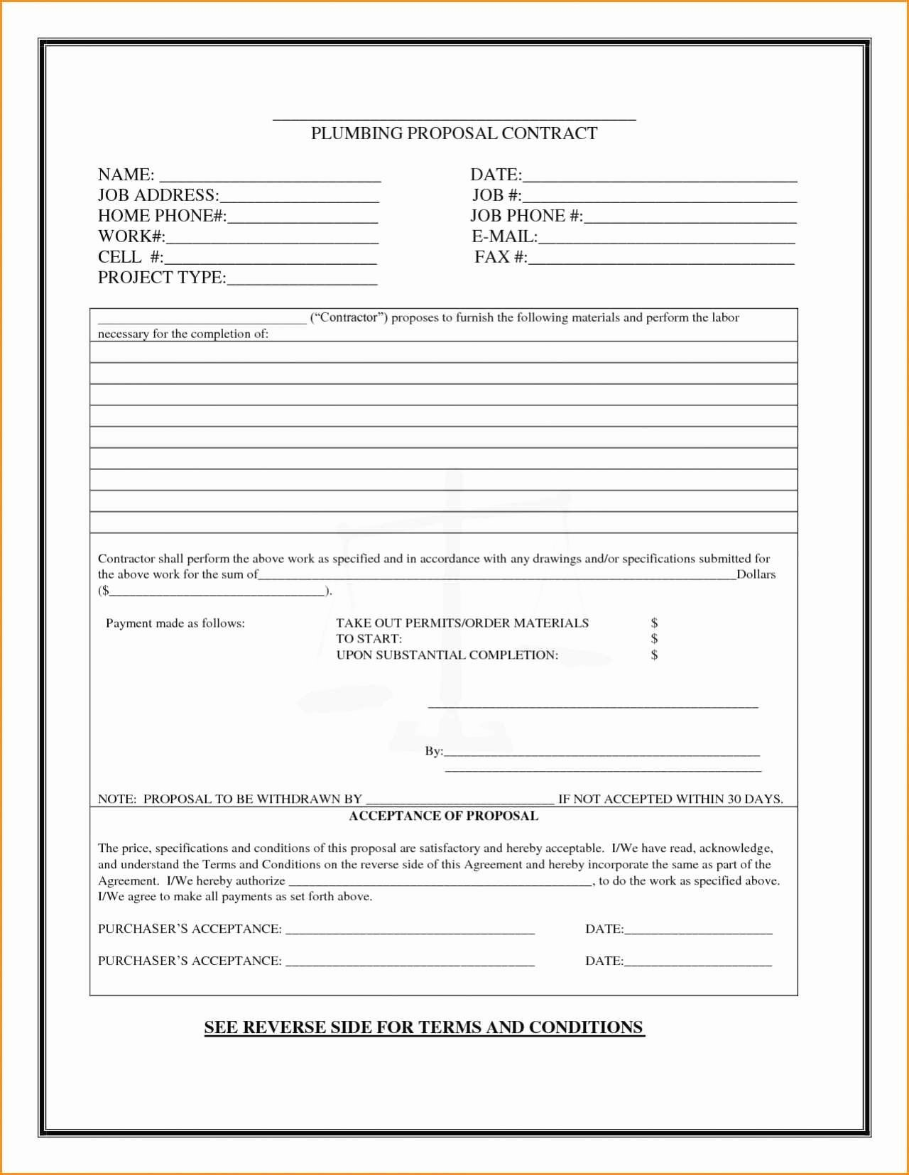 Landscape Bid Template Free Lovely Awesome Landscaping Bid Proposal Template Free