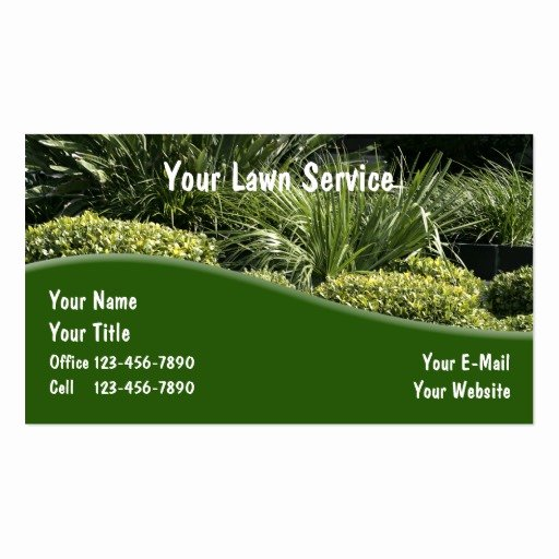 Landscape Business Card Template Awesome Landscaping Business Cards