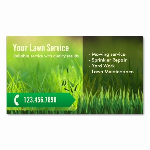 Landscape Business Card Template Best Of 10 Images About Lawn Care Business Cards On Pinterest