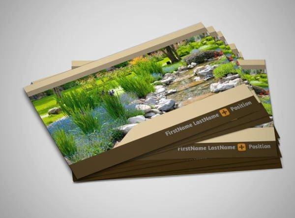 Landscape Business Card Template Inspirational 10 Best Landscaping Business Card Templates Pages Ai