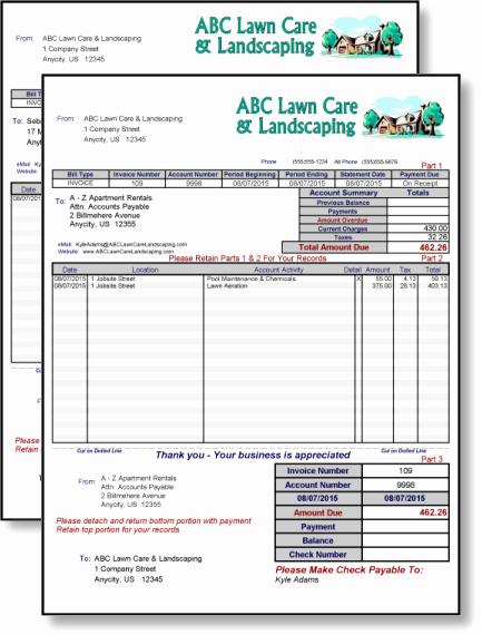 Landscaping Work order Template Elegant 10 Best Of Free Printable Landscaping Invoices