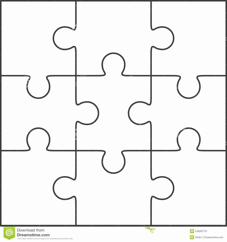 Large Puzzle Piece Template Best Of Template Puzzle Template