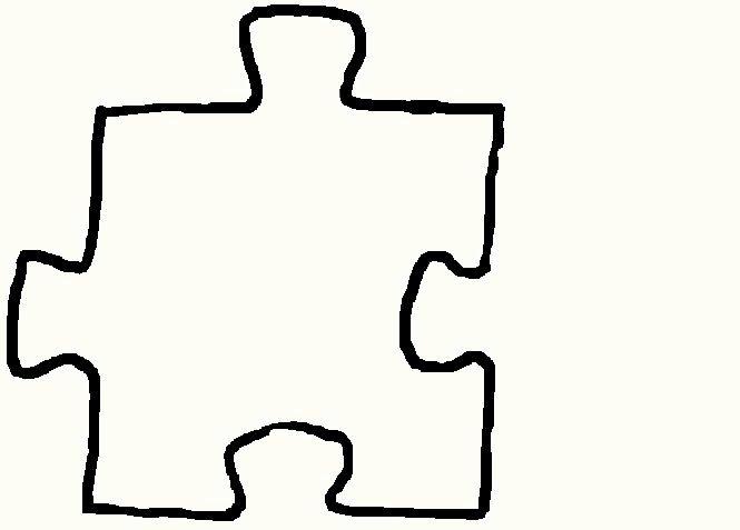 Large Puzzle Piece Template Inspirational Printable Blank Puzzle Pieces Clipart Best