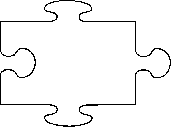 Large Puzzle Piece Template New Free Puzzle Piece Template Download Free Clip Art