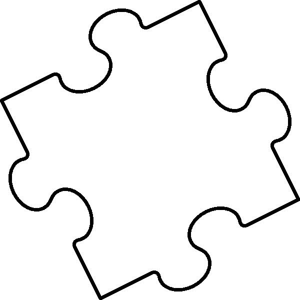 Large Puzzle Piece Template New Puzzle Piece Template Cliparts