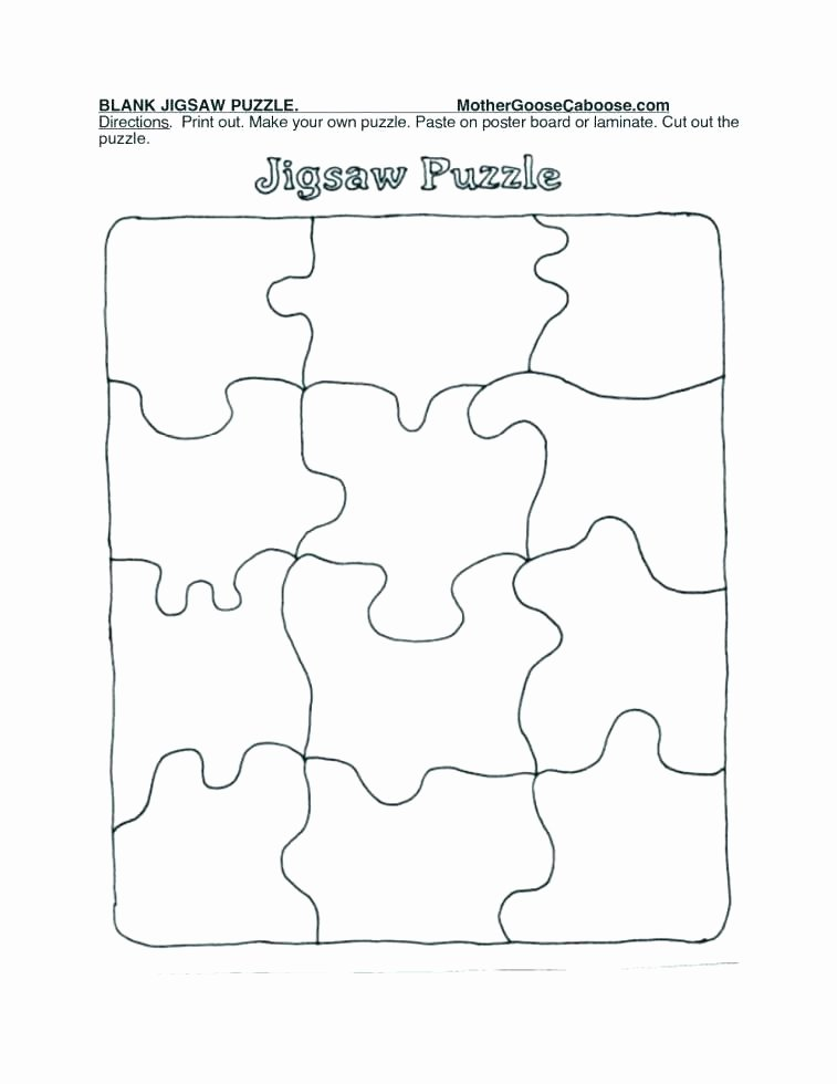 Large Puzzle Piece Template New Puzzle Piece Template Large Printable Puzzle Piece