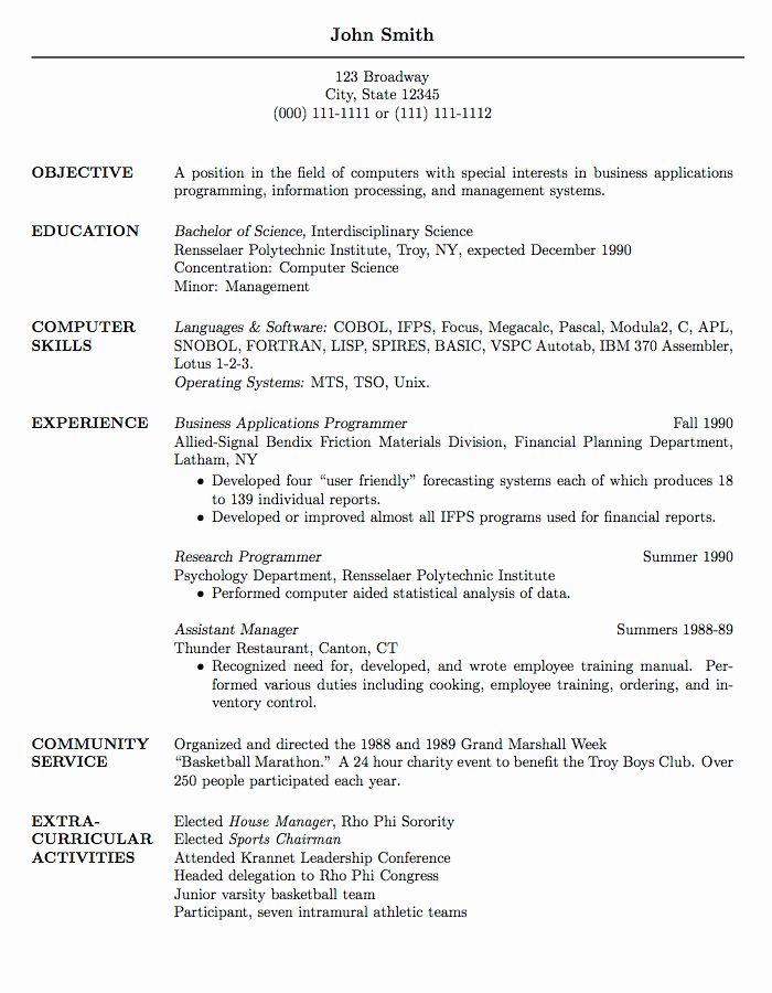 Latex Academic Cv Template Beautiful Latex Templates Curricula Vitae Résumés