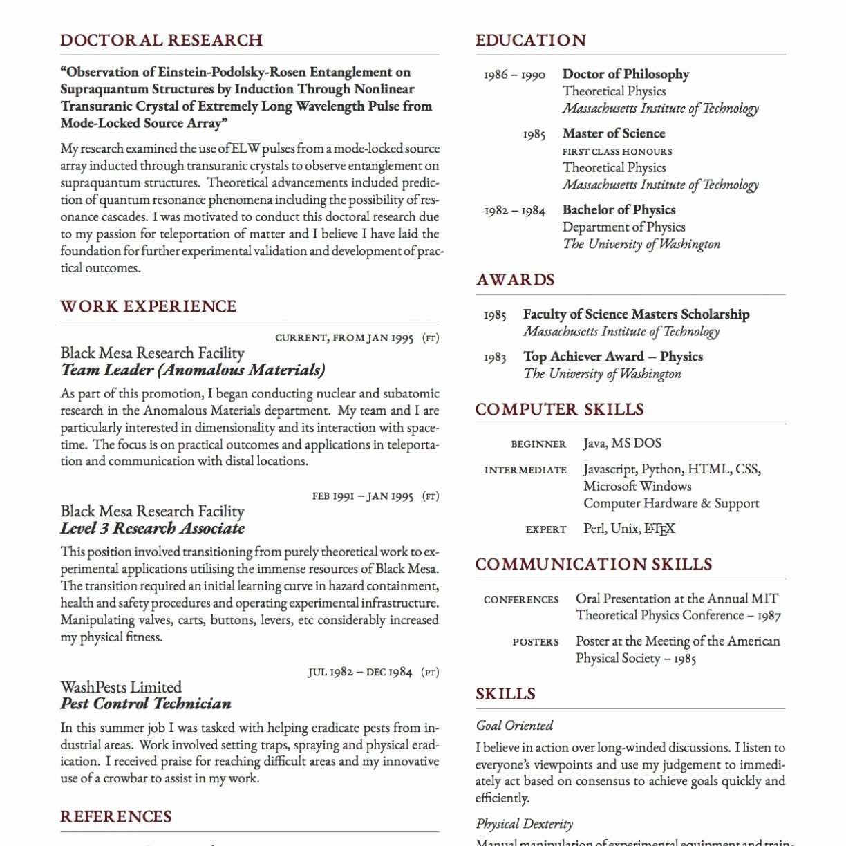 Latex Resume Template Phd Best Of Latex Cv Template Graduate Student Resume Templates