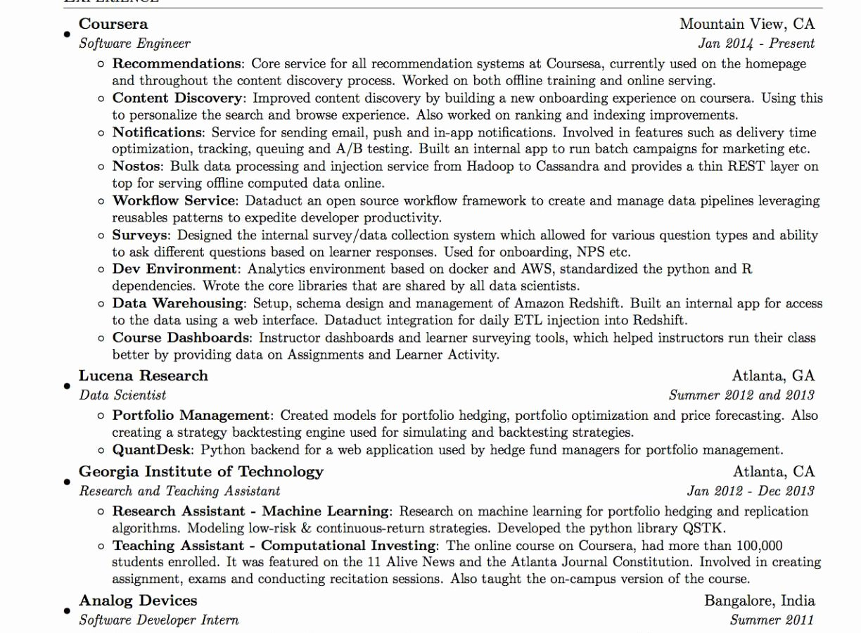 Latex Resume Template Phd Inspirational Latex Cv Template Graduate Student Resume Rashmi Panwar