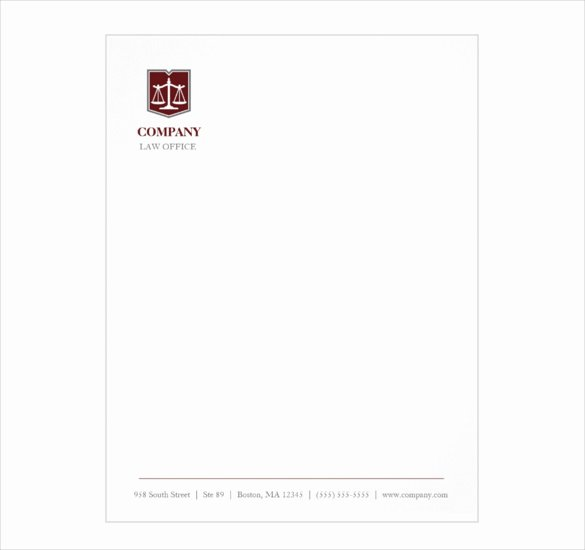 Law Firm Letterhead Template Luxury Letterhead Template – 6 Free Psd Eps Documents Download