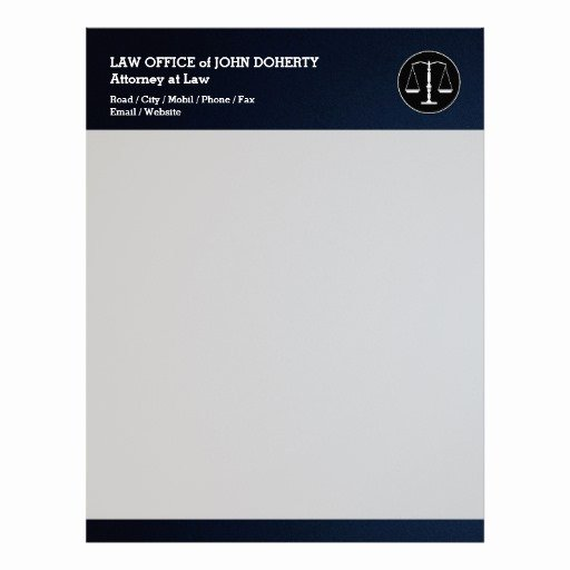 Law Firm Letterhead Template Unique Law Firm Letterhead Custom Law Firm Letterhead Templates