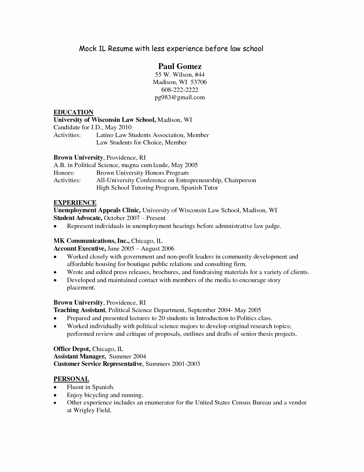Law School Outline Template Lovely Legal Resume Template Templates and Builder Writing Law