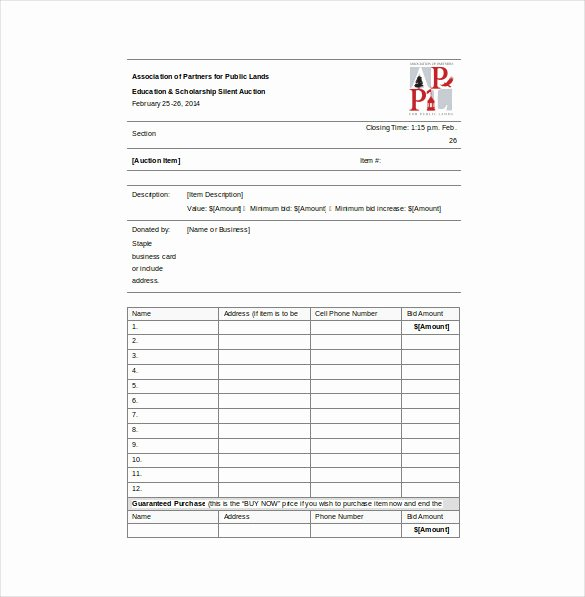 Lawn Care Bid Template Best Of Bid Sheet Template 14 Free Sample Example format