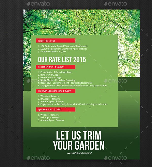Lawn Care Flyer Template Fresh 20 Lawn Care Flyers Psd Vector Eps Jpg Download