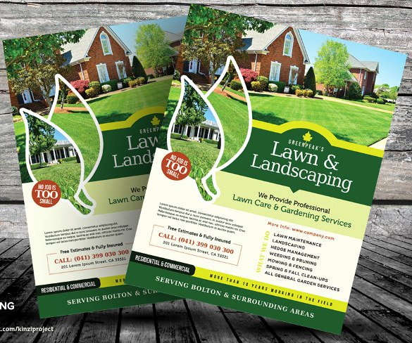 Lawn Care Flyer Template Inspirational 29 Lawn Care Flyers Psd Ai Vector Eps