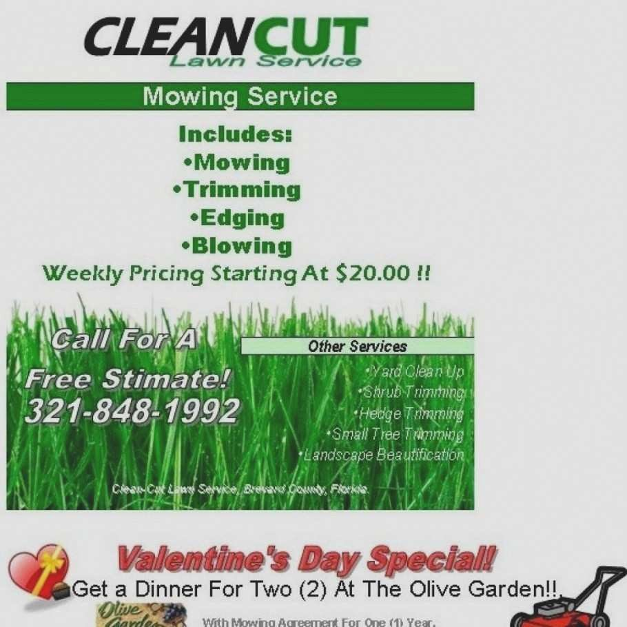 Lawn Care Flyers Template Beautiful Best Free Lawn Care Service Flyer Template