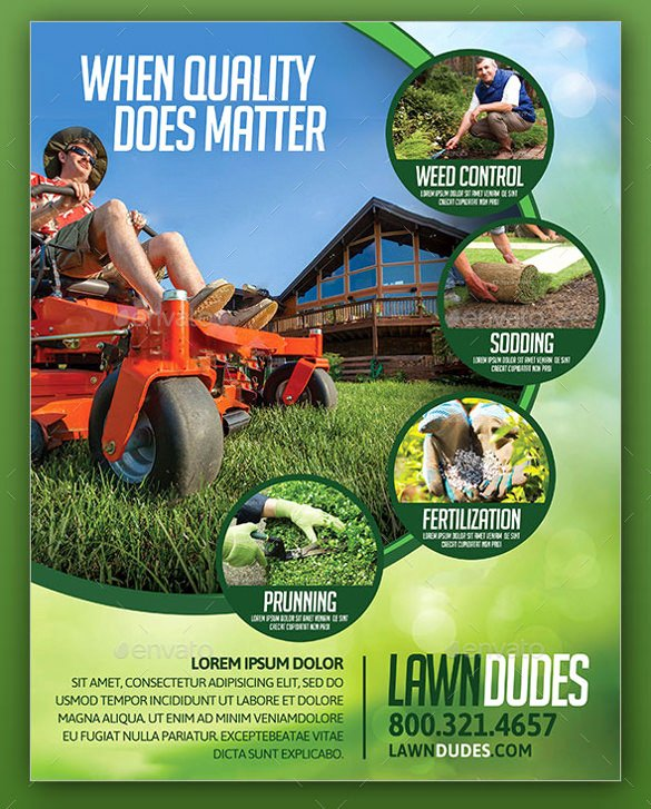 Lawn Care Flyers Template Fresh 29 Lawn Care Flyers Psd Ai Vector Eps
