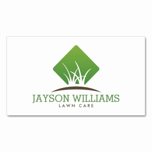 Lawn Care Logo Template Luxury 19 Best Business Cards for Landscaping Lawn Care