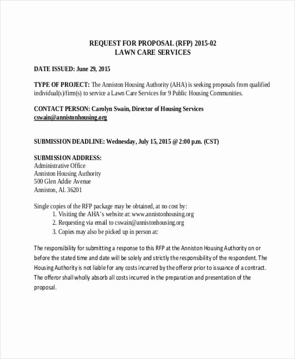 Lawn Care Proposal Template New 24 Service Proposal Samples Word Pdf Pages