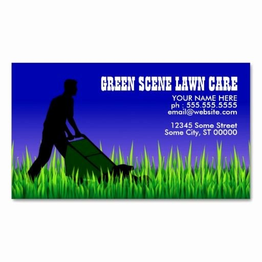 Lawn Care Quotes Template Beautiful 10 Images About Lawn Care Business Cards On Pinterest
