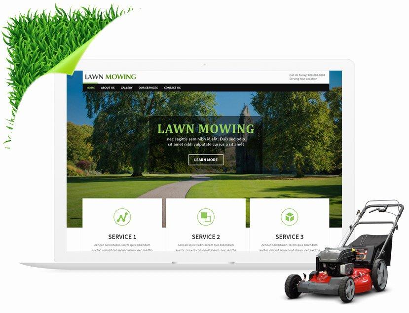 Lawn Care Website Template Beautiful 9 Lawn Care Services Website Templates Parison Review