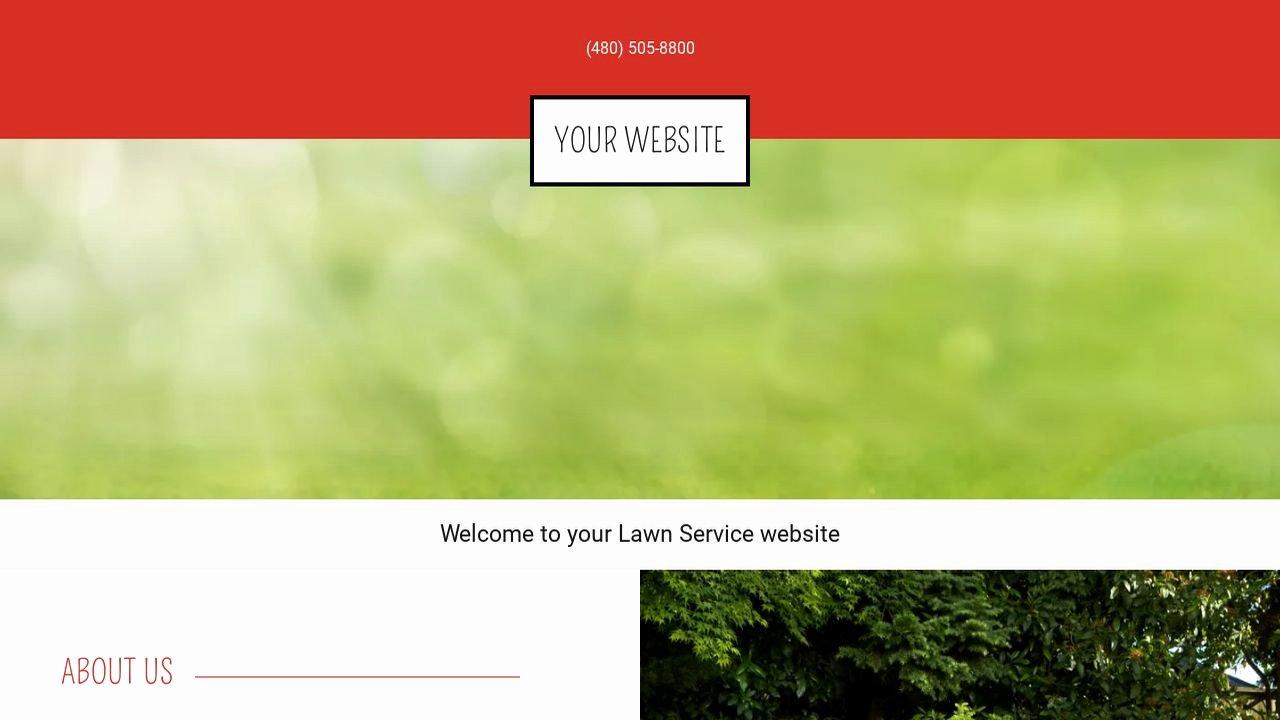Lawn Care Website Template Beautiful Lawn Service Website Templates