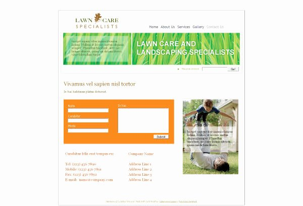 Lawn Care Website Template Inspirational Lawn Mowing Website Template Entown Posters