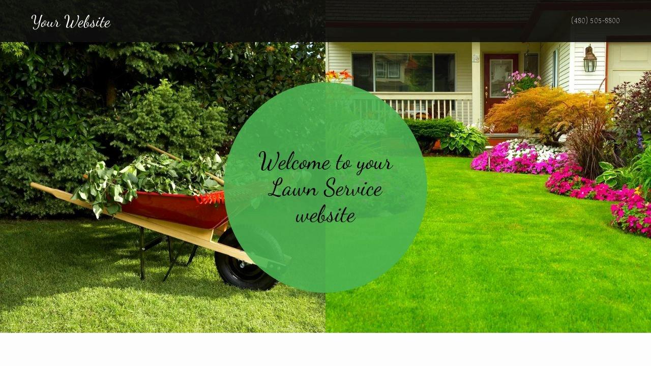Lawn Care Website Template Inspirational Lawn Service Website Templates