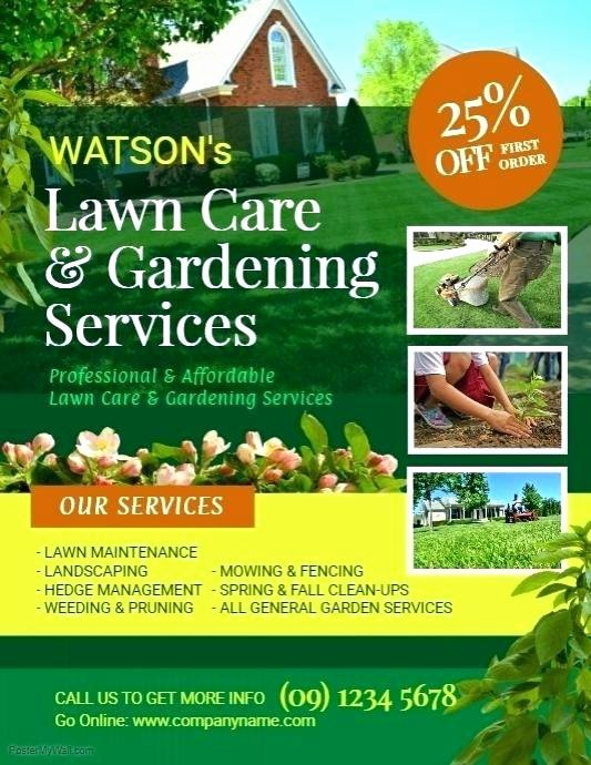 Lawn Care Website Template Lovely Lawn Service Website Template