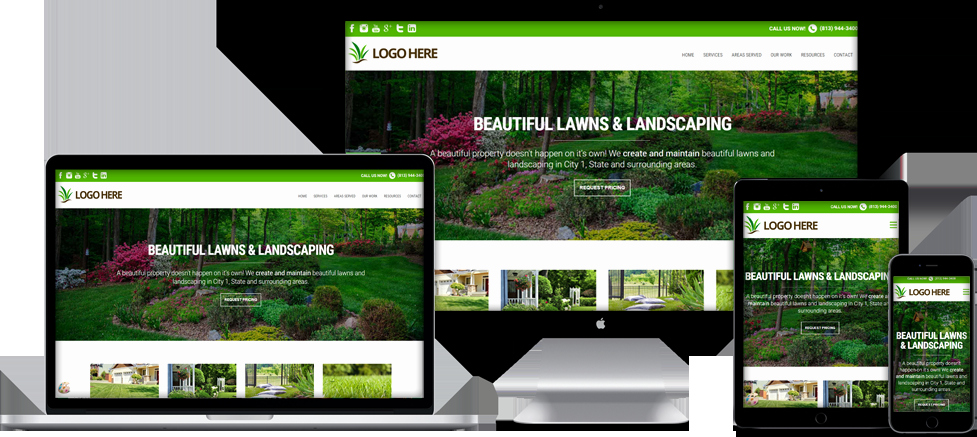 Lawn Care Website Template New Website Templates for Lawn Care & Landscaping Panies