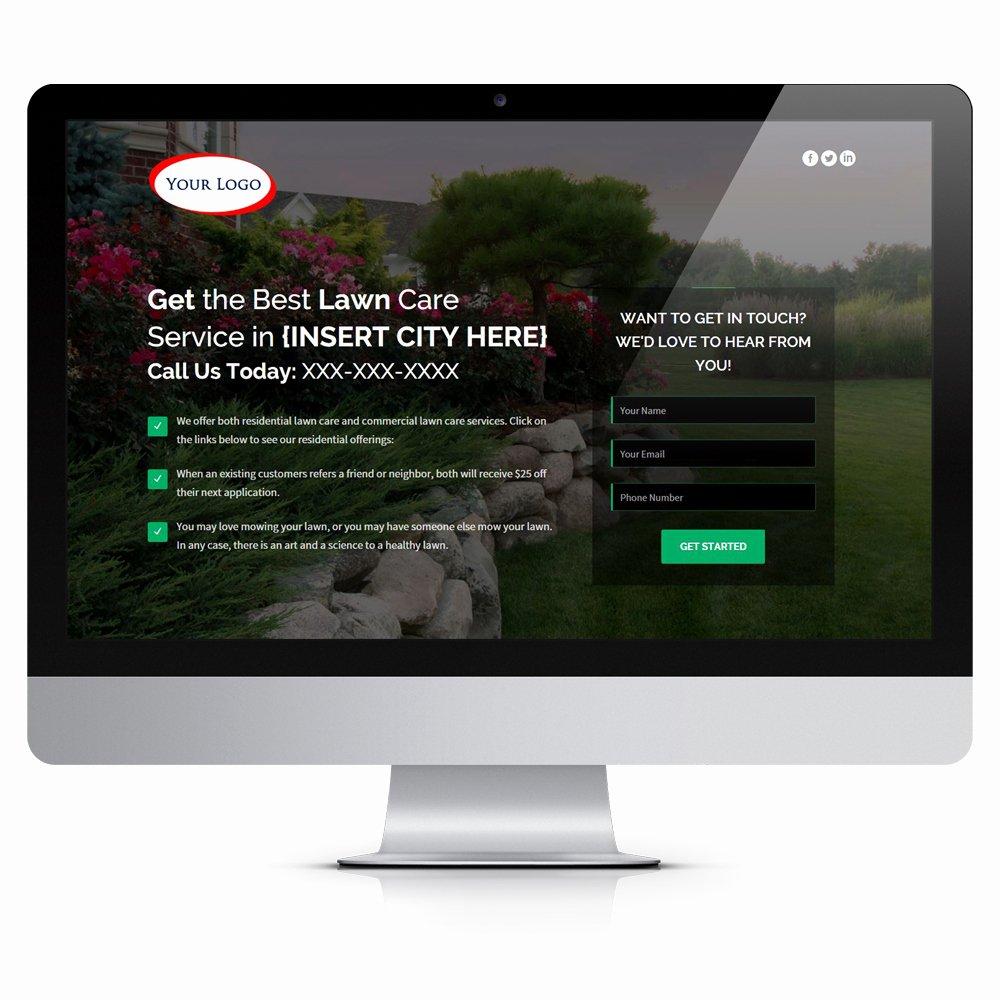 Lawn Care Website Template Unique Progressive – E Page Lawn Care Website – the Lawn Market