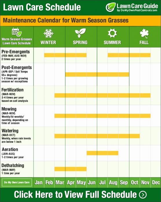 Lawn Maintenance Schedule Template Beautiful Lawn Maintenance Schedule Template the Real Reason Behind