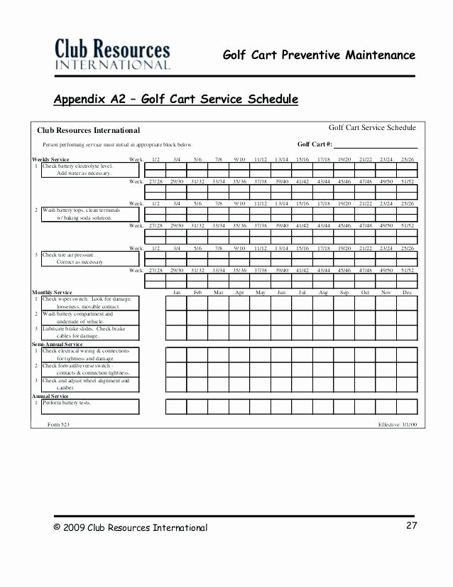Lawn Maintenance Schedule Template Inspirational Lawn Maintenance Schedule Template Mower Checklist