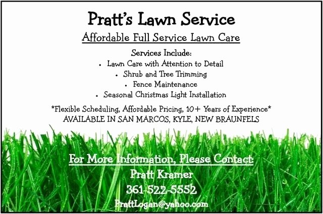 Lawn Mower Flyer Template Best Of Lawn Care Flyer Template Basic Lawn Mowing Flyer Template