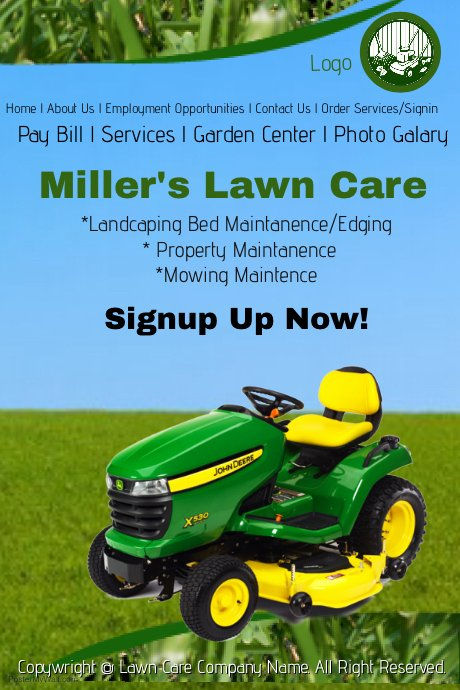 Lawn Mowing Flyer Template Fresh Lawn Care Service Template