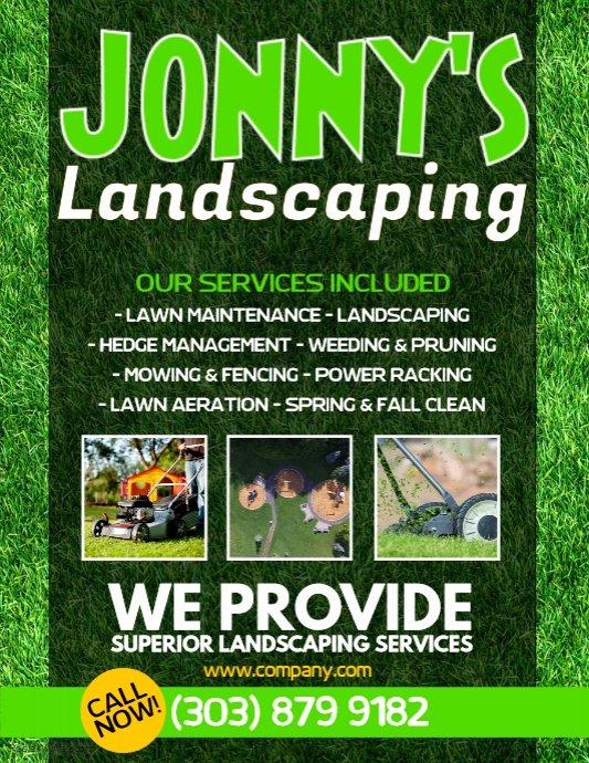 Lawn Service Flyer Template Lovely Lawn Service Flyer Template
